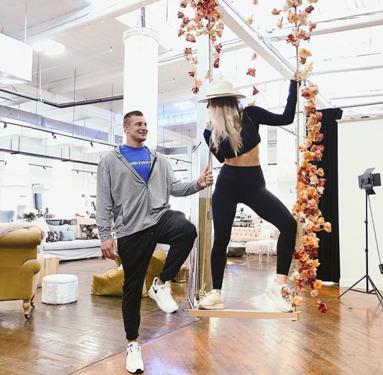 Rob Gronkowski And Camille Kostek Had A Nice Easter