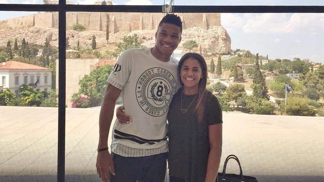 Giannis Antetokounmpo and His Girlfriend Mariah ...