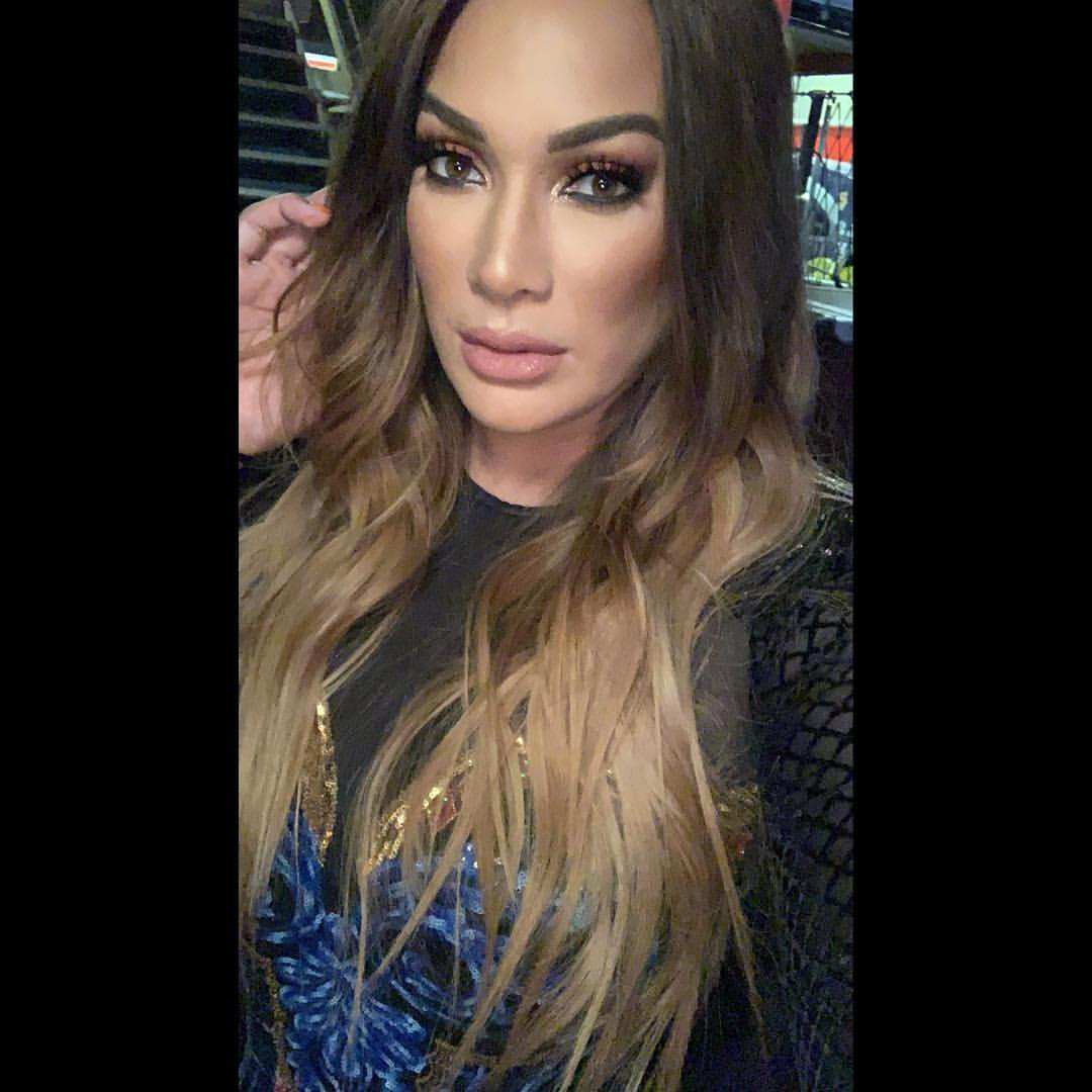 WWE Superstar Nia Jax Dropped a Video of a Lingerie Photo