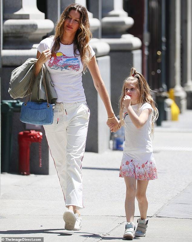 Tom Brady and Gisele Bundchen Have a Family Outing In NYC
