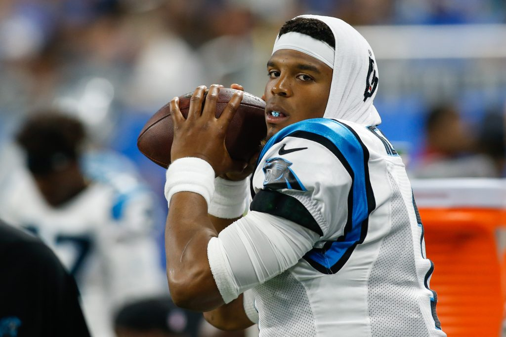 Panthers QB Cam Newton Is Reportedly Throwing Footballs