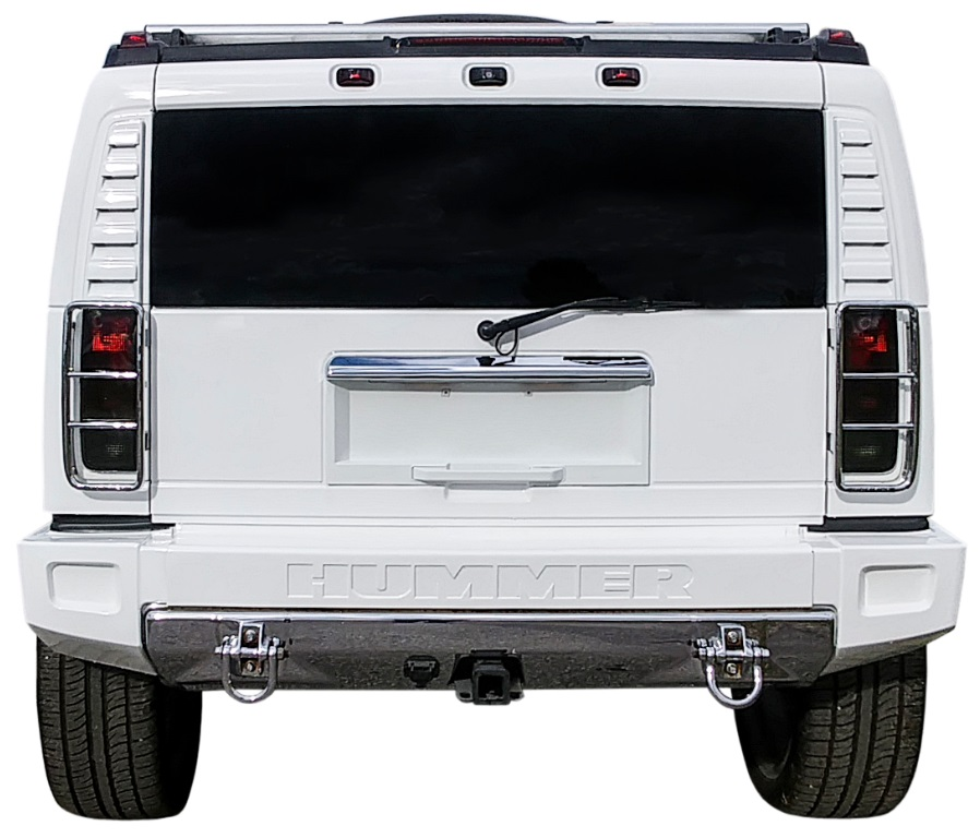 93733515698 2003 Infamous Customized H2 Hummer LeBron James Received For His 18th  Birthday