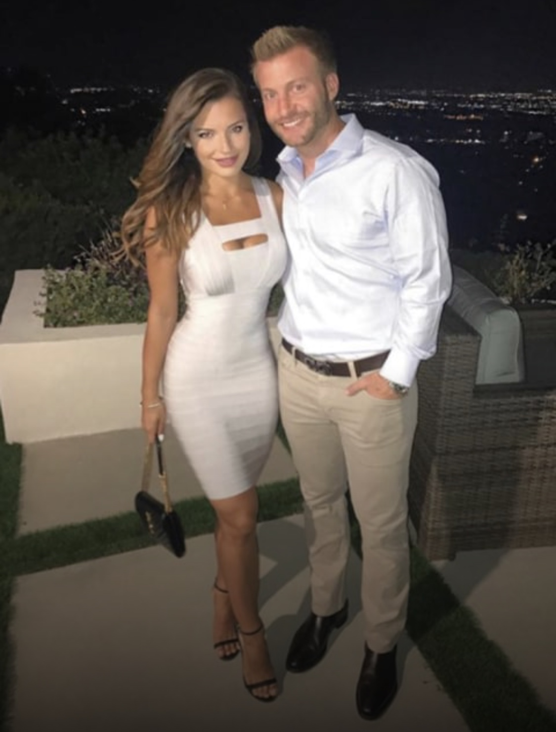 Meet Los Angeles Rams Head Coach Sean Mcvay S Girlfriend Veronika Khomyn Sports Gossip